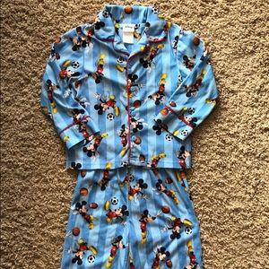 Mickey Mouse fleece pajamas
